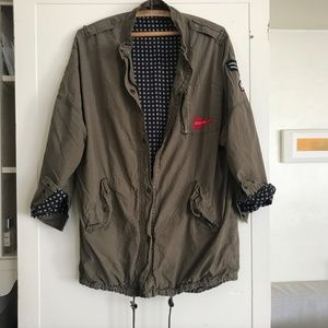 Urban Outfitters Olive Army Military Jacket